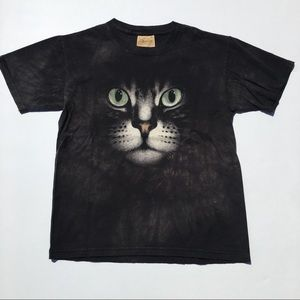 Cat Face The Mountain Tee